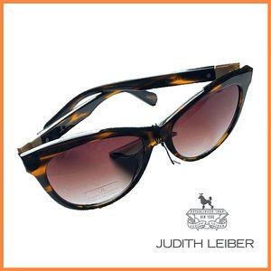 🏷 🆕 Judith Leiber Tortoise Butterfly Sunglasses